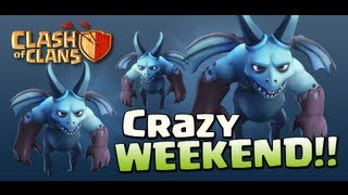 Ataque Con 8 Dragones y 20 Esbirros - Clash Of Clans Gameplay