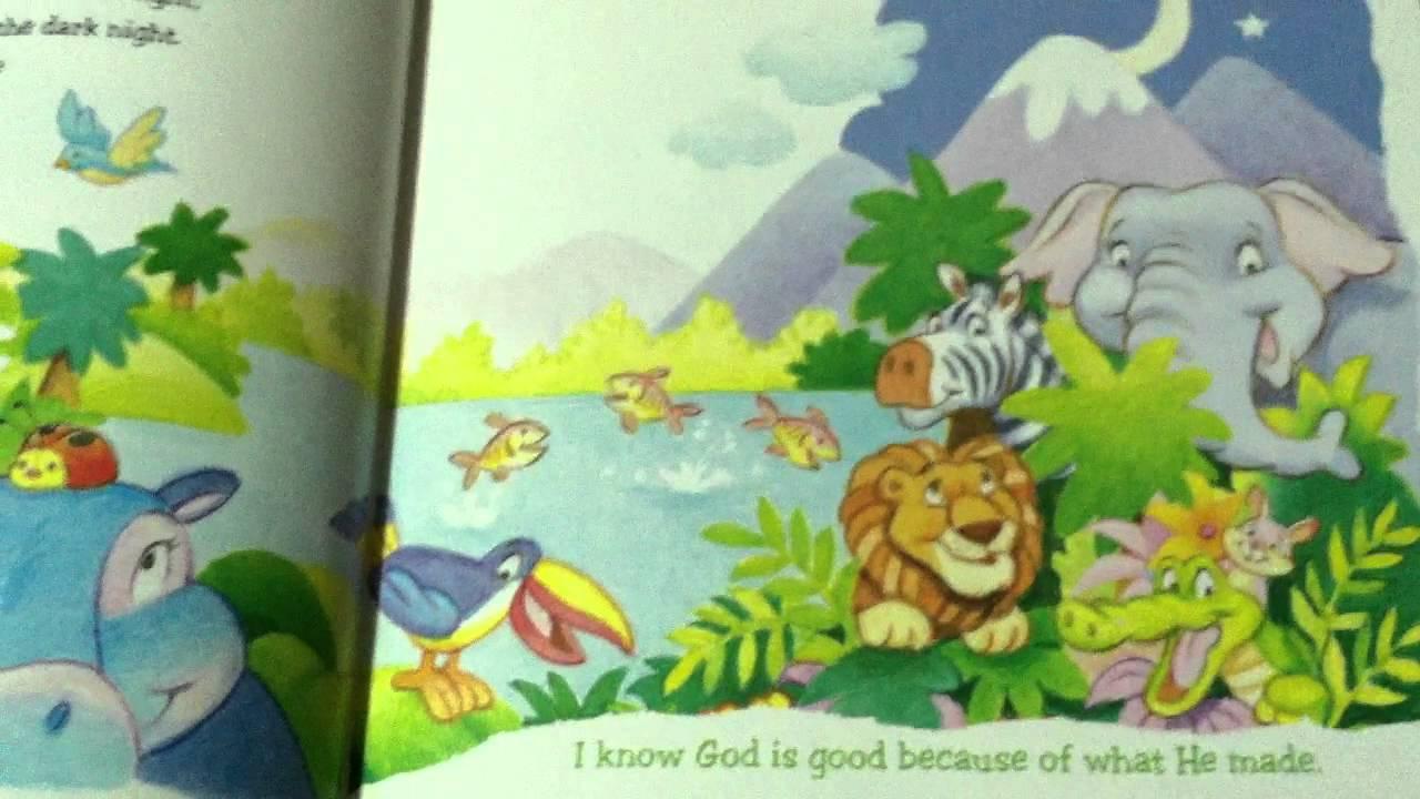 Children S Bible Creation Story Genesis Youtube