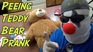 Peeing Teddy Bear Valentine's Day Prank- HOW TO PRANK