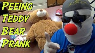 Peeing Teddy Bear Valentine's Day Prank- HOW TO PRANK