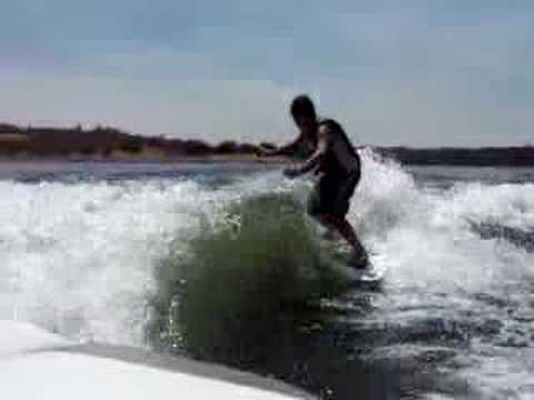 wakesurfing Video