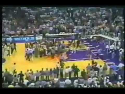 Knicks v Suns 1993 Doc v KJ Fight