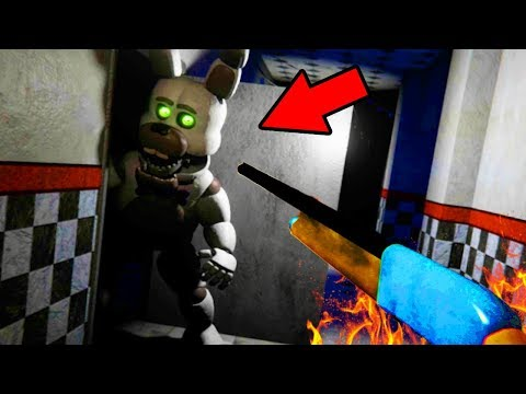 YOU CAN DEFEAT THE ANIMATRONICS WITH THIS?! | FNAF Bubbas Diner (NEW ENDING)