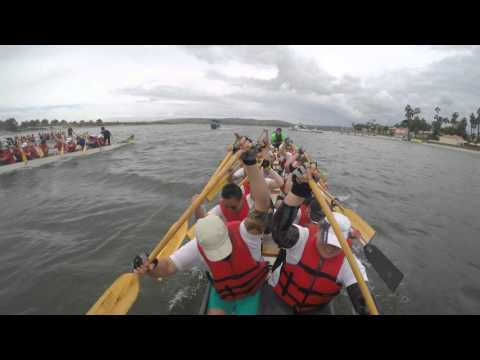 2016 San Diego Dragon Boat Race - Team Stealth: Heat 2
