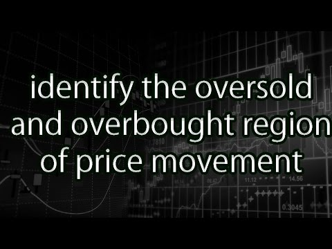 identify the oversold and overbought region of price movement