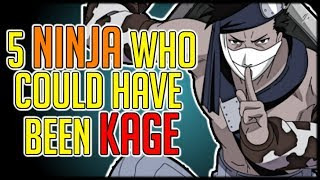 Five Naruto Characters Who Could Have Been Kage
