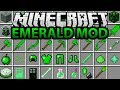 Minecraft Emerald Mod - Her Şey Yeşil