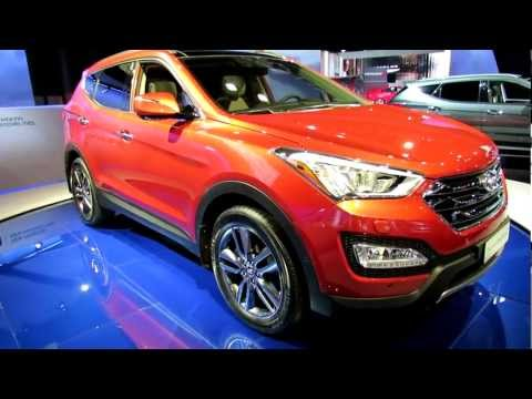 2013 Hyundai Santa Fe Exterior - Debut at 2012 New York International