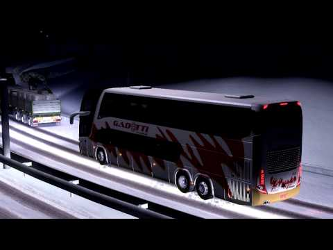 Euro Truck Simulator 2 Bus trip with Marcopolo G7 1800DD Volvo part4