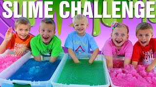 Gelli Baff Slime Challenge Toys & Sour Candy - Family Fun Pack