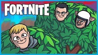 Camping in ONE TREE the WHOLE GAME in Fortnite: Battle Royale! (Fortnite Funny Moments & Fails)
