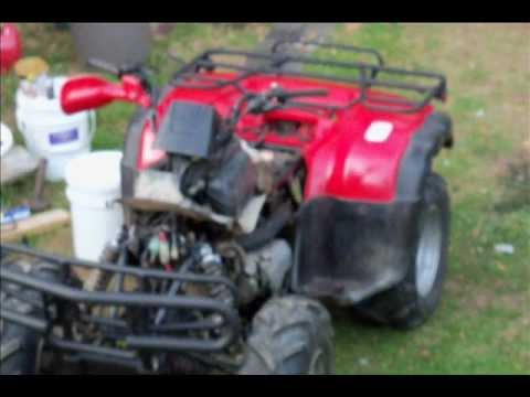 My first experience Honda 350 Fourtrax  Part 1
