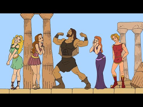FAIRY TALE FRIDAY - HERCULES