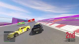 Grand Theft Auto V online race nascar 52