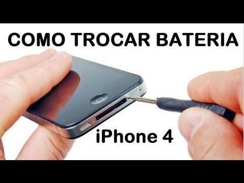 Como trocar bateria do iPhone 4 by MiTutoriais