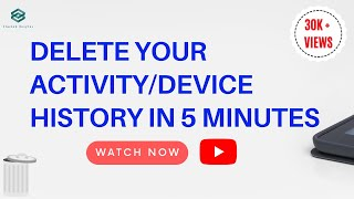 How to Delete All History from Youtube & My Activity on Android || Latest Trick 2018