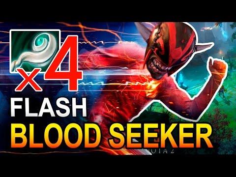 BLOODSEEKER FLASH | MONTAGE DOTA 2