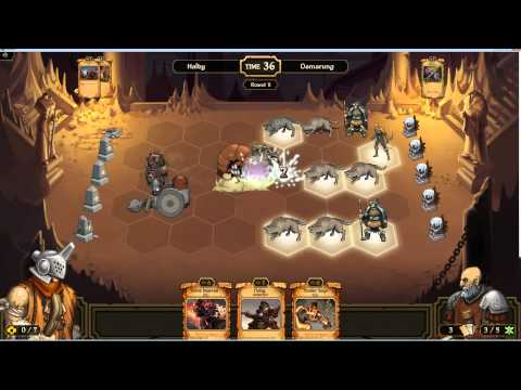 Scrolls - 4 games with the energy deck while we wait for immo to download the game!