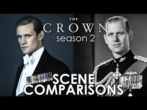The Crown (2017) season 2 - scene comparisons