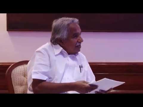 Kerala CM Oommen Chandy calls on PM Modi