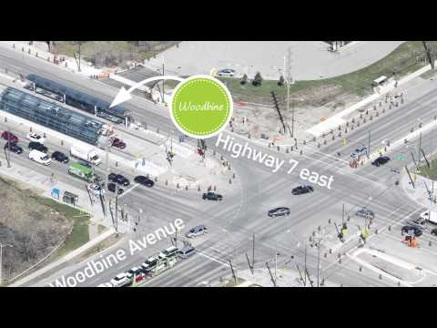 See what's happening on Highway 7 East, Markham, in 2014.