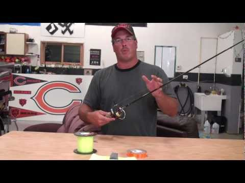 Spooling a Spinning reel with Berkley Fireline