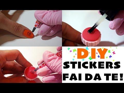 DIY: Come fare gli stickers per unghie #1