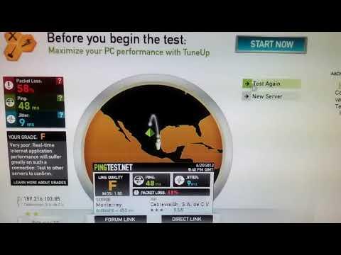 Internet Fibra Optica cablevisión 10 megas WTF F