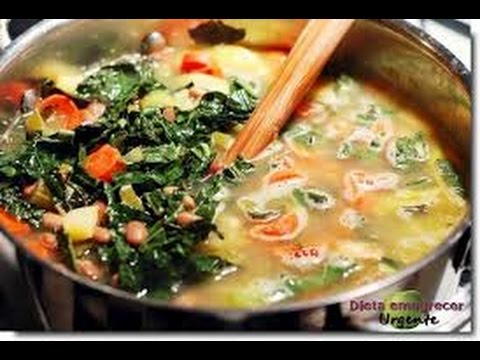 Dieta da Sopa Detox Milagrosa - Perca 5 a 9 Kilos em 7