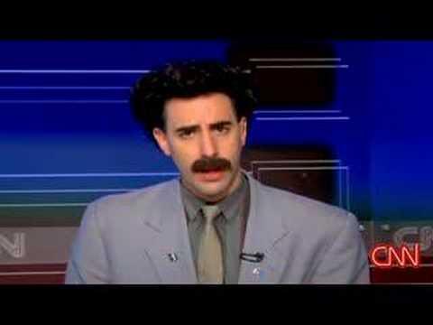 Borat Interview on (American) CNN