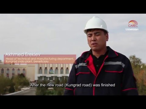 CAREC: Helping the Economy Grow in Uzbekistan
