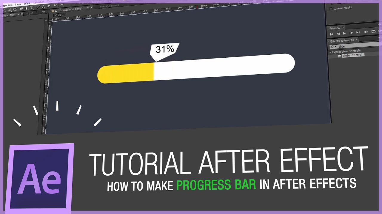 How to make an infographic video in after effects
