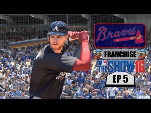 MLB The Show 16 (PS4) Atlanta Braves Franchise EP5 (Morale Boost...See Ya Fredi!)