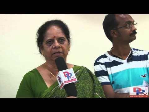 Mrs.Annapurna Nehru, EC member of DFW Temple, Irving,Texas speaking to Desiplaza TV