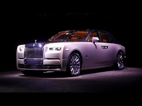 The Rolls-Royce Phantom VIII makes its debut