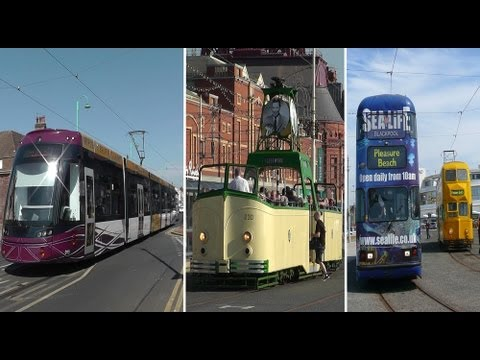 Blackpool 'Balloontastic' Trams & Much More