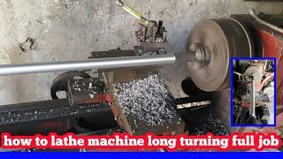 lathe thread cutting tutorial  lathe machine opera