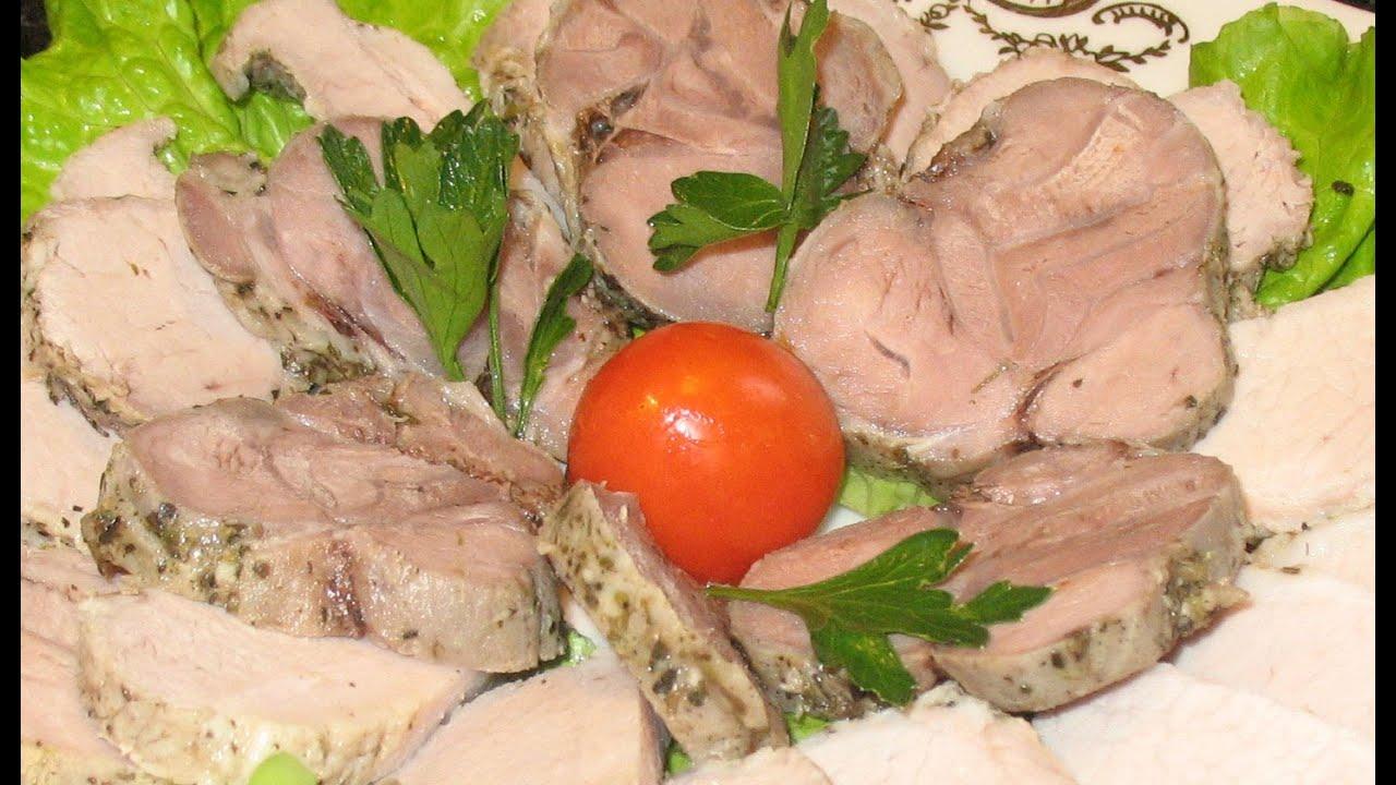 Ветчина из курицы рецепты