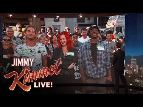 "Jimmy Kimmel Plays ""Who's High?"""