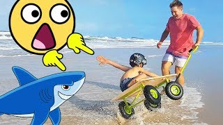 Family Fun Beach Adventures & Vacation - Sand Play Ride On Mini Cars for Kids