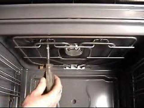 How to replace your grill element on Bosch. Neff And Siemens cooker or oven.