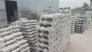 Thanh niên Hải Dương mỗi tháng kiếm trăm triệu nhờ làm hàng rào bê tông
