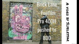 Fujifilm Pro 400H pushed to 800  Brick Lane