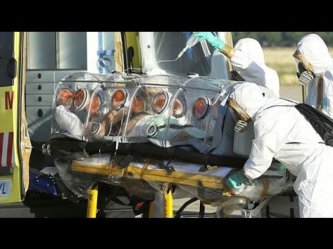 First European Ebola patient arrives in Spain
