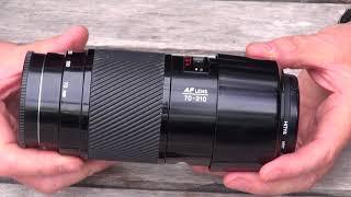 Full frame digital photography .....on a budget using 1980/90s minolta af lenses