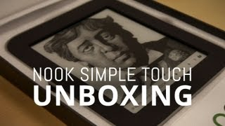 Nook Simple Touch w/ GlowLight Unboxing!