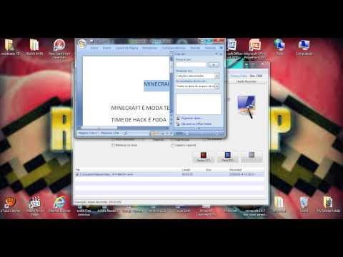 Como usar o Microsft office word 2077 epic1