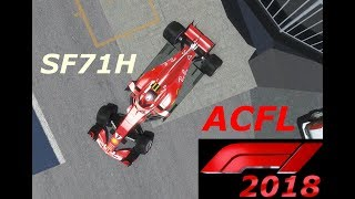 ACFL F1 2018 : Suit and My helmet paint,  rFactor 2