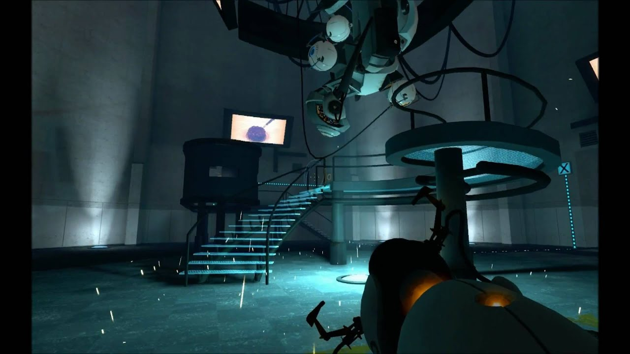 Portal 1 Glados Fight And Ending Wmv Youtube