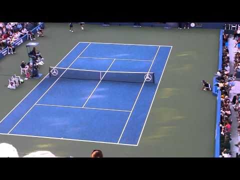 Stanislas Wawrinka vs. Sam Querry U.S.  Open 9/7/10 Final Points